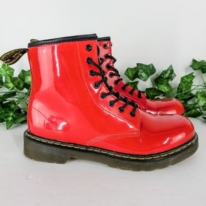 Dr. Martens Delaney Kids' Boots Patent Leather 5